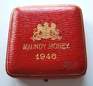 1946 maundy set case