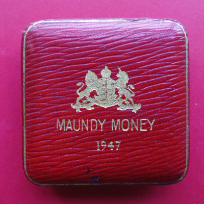 1947 maundy set case
