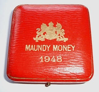 1948 maundy set case