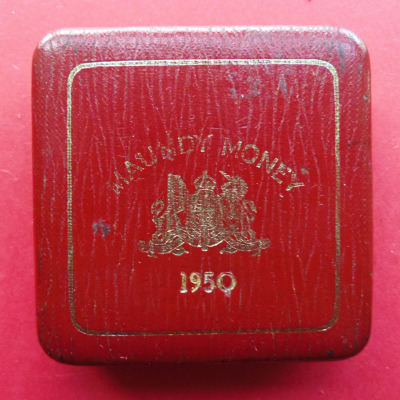 1950 maundy set case