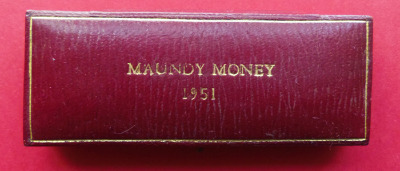 1951 maundy set case