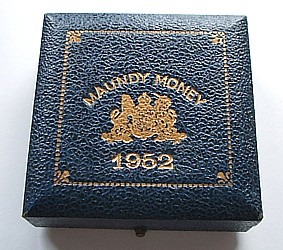 1952 maundy set case