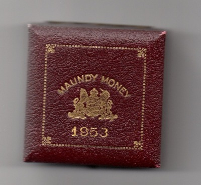 1953 maundy set case