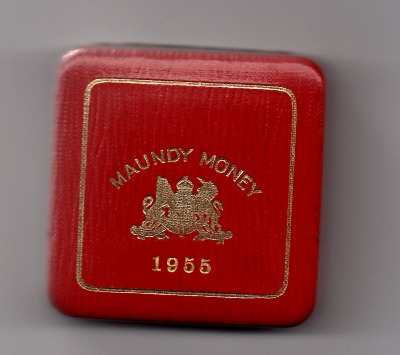 1955 maundy set case