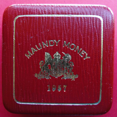1957 maundy set case