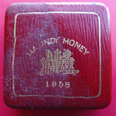 1958 maundy set case