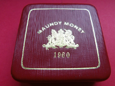 1960 maundy set case