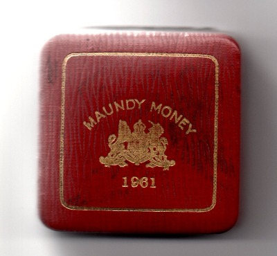 1961 maundy set case