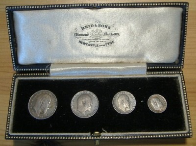 Edward VII undated Reid & Sons case