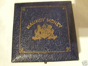George VI - Square, blue (rare) case