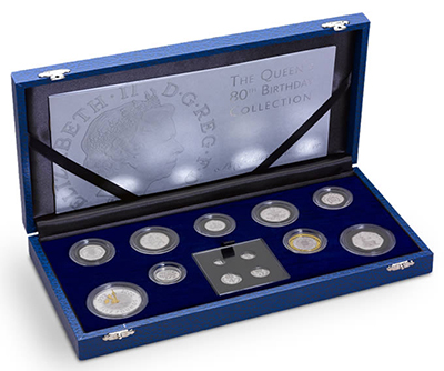 The Queen Elizabeth II 80th birthday commemorative collection (2006)
