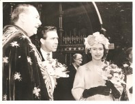 1962 Princess Margaret at the maundy ceremony.