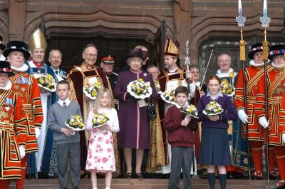 2004 Maundy Service - The Royal Maundy ceremony at Liverpool Cathedral